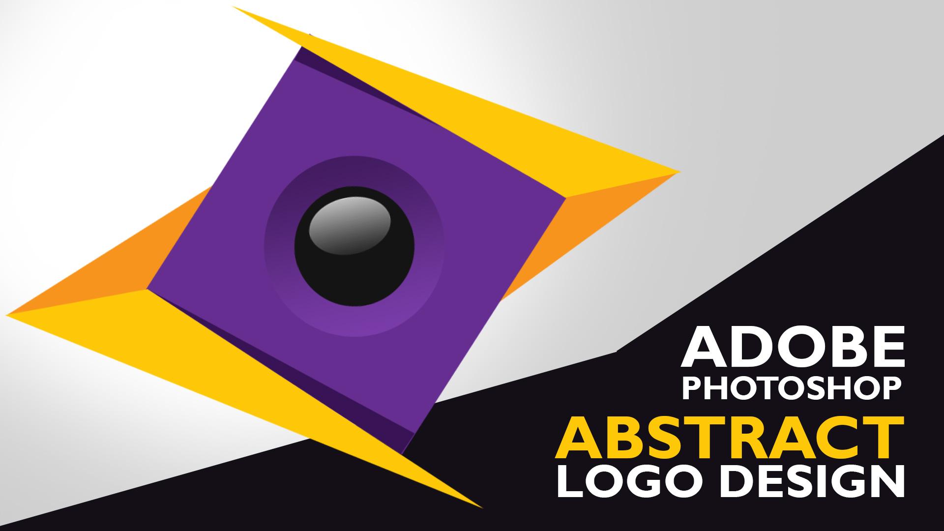 abstract logo design tutorial dezcorb