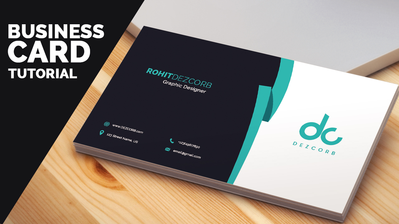 Template Business Card Photoshop