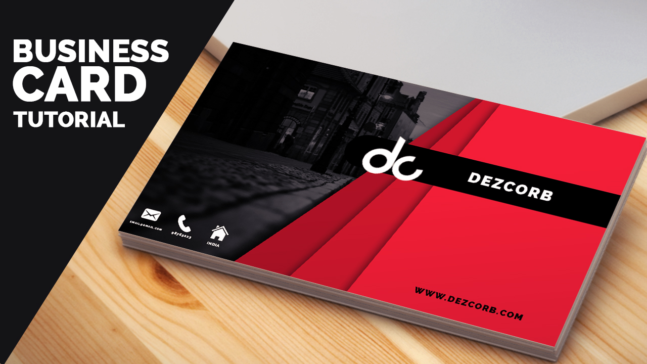 Business Card Archives Dezcorb - Photoshop cs6 business card template