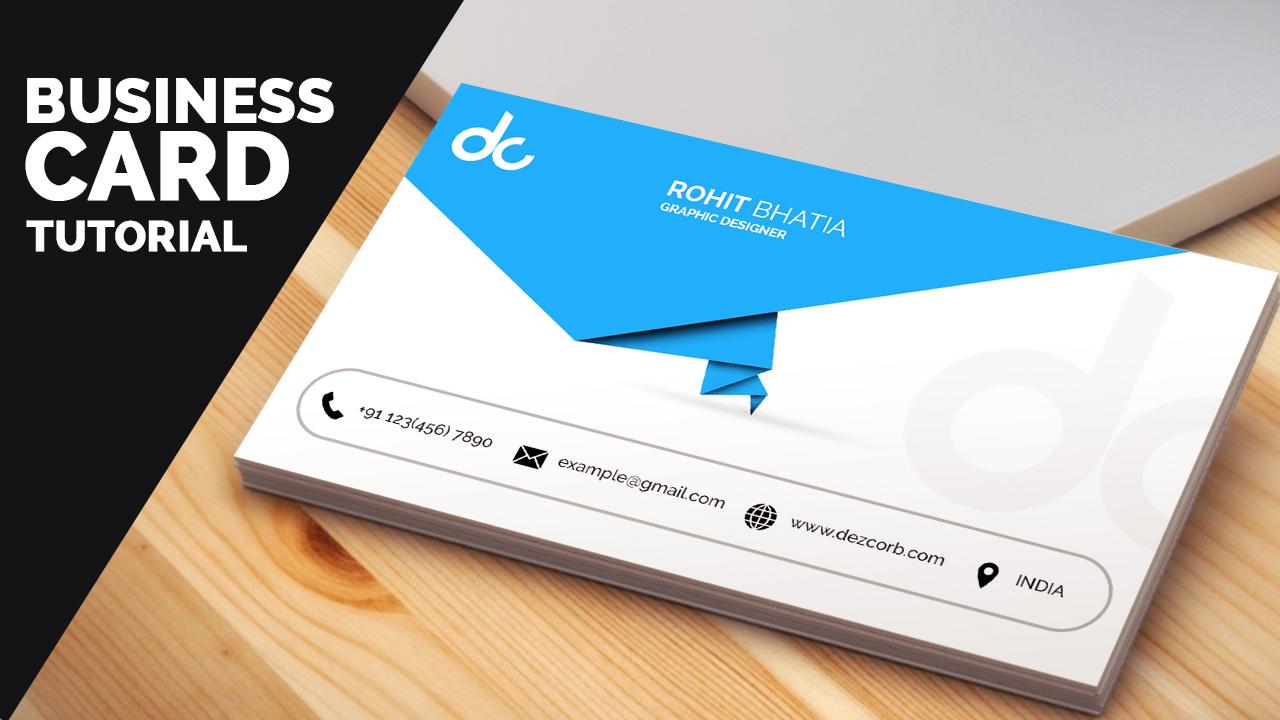 business card design Archives - Dezcorb