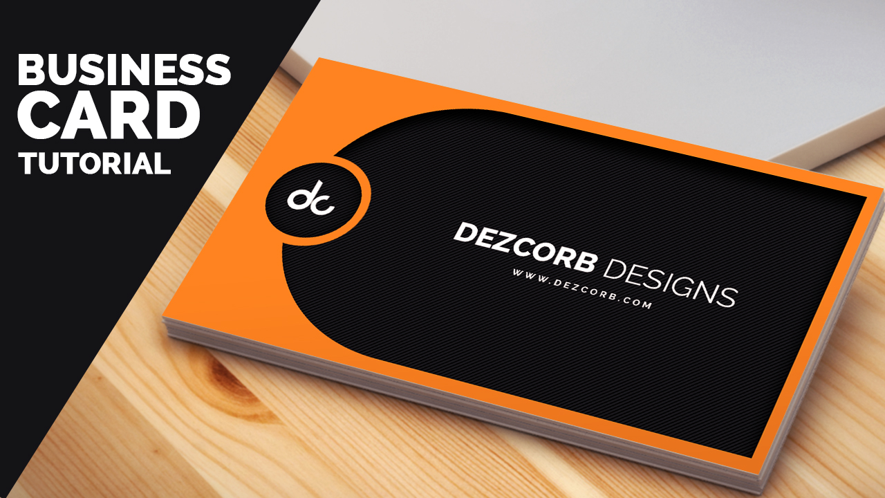 Business card design archives dezcorb business card design in photoshop cs6 tutorial learn photoshop reheart Gallery